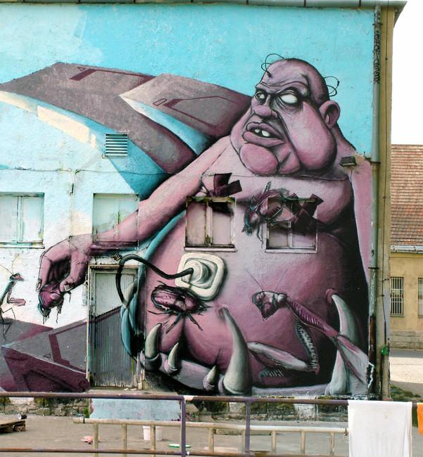 Personnages Par Mr.zero - Budapest (Hongrie)