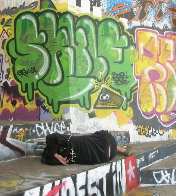 Throw Ups Par Skule - Metz (France)