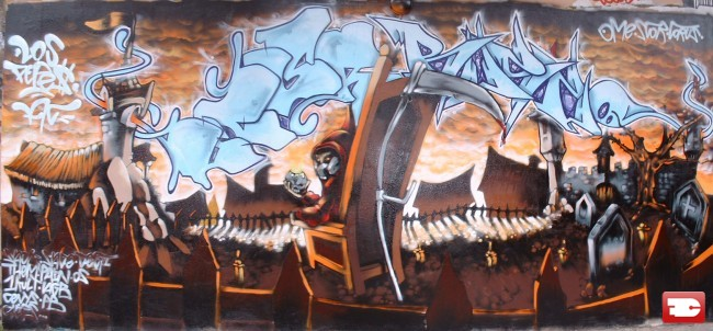 Fresques Par Ome - Nantes (France)
