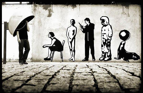 Street Art Par Alexandre Orion - Sao Paulo (Bresil)