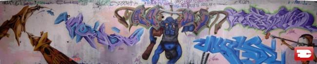 Fresques Par Asty, Hers, Auson, Wease, Aoui - Le Muy (France)