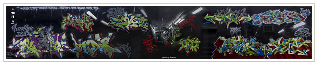 Fresques Par Cope2, Indie 184, Shadow, T-kid, Ewok, Deem, Jick, Jee - New York City (NY)