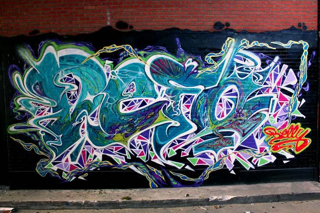 Piece Par Eyes-b, Defo - Bruxelles (Belgique)