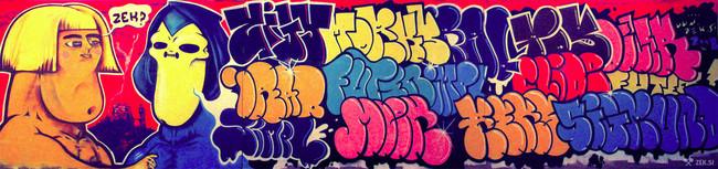 Throw Ups Par Iraq, Rex, Futen - Ljubljana (Slovenie)