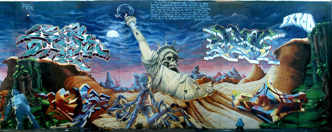Fresques Par Ces, Daim, Per 1, Hesh - New York City (NY)