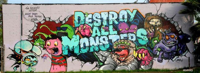 Big Walls By Rime, Augor, Persue, Dabs, Myla - Los Angeles (CA)