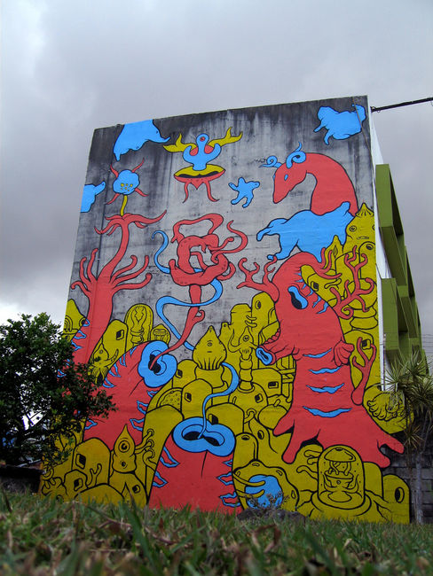 Street Art Par Gualicho - San Jose (Costa Rica)