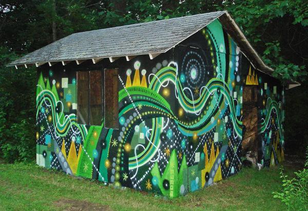 Street Art Par Mwm - Portland (OR)