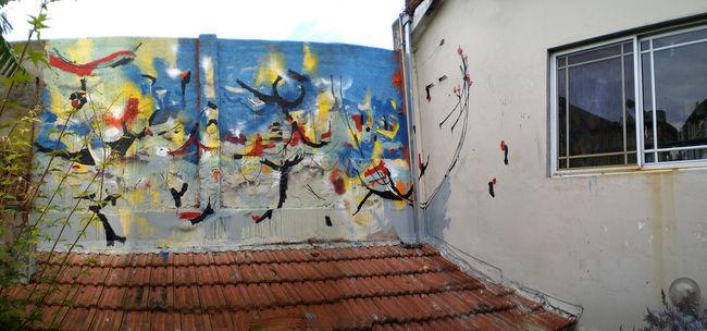 Street Art Par Aire, Tokyo - Buenos Aires (Argentine)