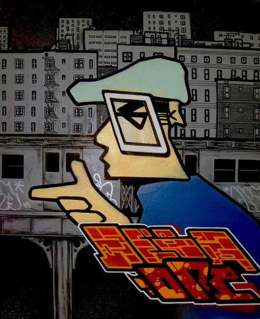Street Art Par Deba - Toulouse (France)