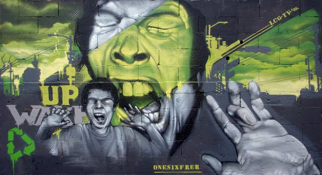 Big Walls By Onesixfrer - Montpellier (France)