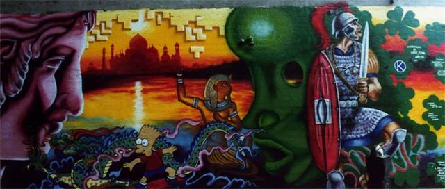 Big Walls By Lady Pink, Mr Smith - New York City (NY)