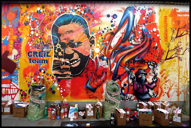 Street Art By Ezp, Djalouz - Paris (France)