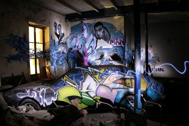 Fresques Par Caveman - Paris (France)