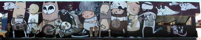 Big Walls By Stormie, Kid Acne - Perth (Australia)