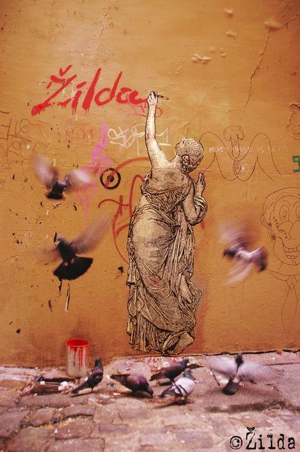 Street Art Par Zilda - Paris (France)