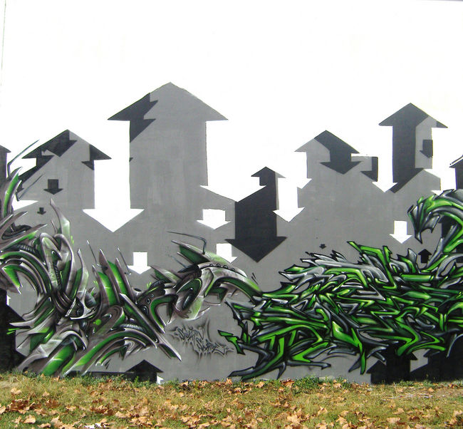 Big Walls By Spazm, Onesixfrer - Toulouse (France)