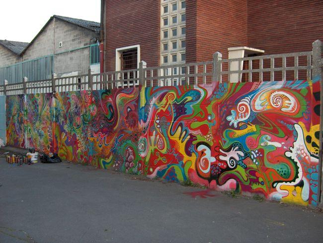 Street Art Par R2rien, Jow.l * Artiste Studio Urbain - Vitry-sur-Seine (France)