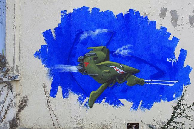 Street Art By Keymi - Clermont (France)