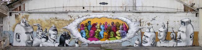Fresques Par Aec, Waone - Kiev (Ukraine)