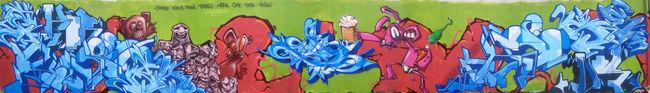 Big Walls By Violon, Ome, Hosru, Dos, Cras, Pablo, Mutha, Finda - Llanca (Spain)