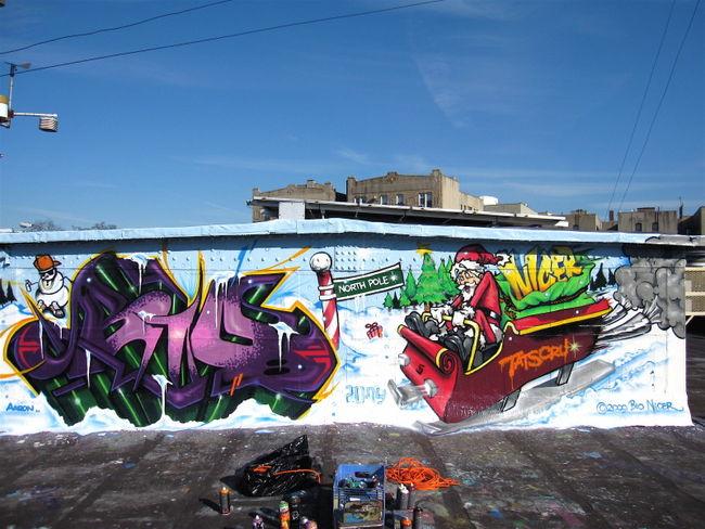 Big Walls By Bio, Nicer - New York City (NY)