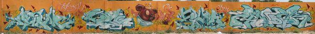 Big Walls By Rage, Mutha, Kew, Finda, Dino - Lerida (Spain)