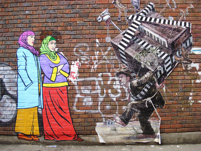 Street Art By Elbow Toe, Br1 - New York City (NY)
