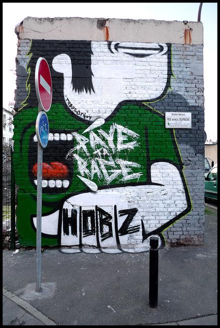 Personnages Par Hobz - Paris (France)