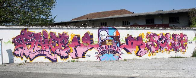 Fresques Par Raid, Bebop - Pau (France)