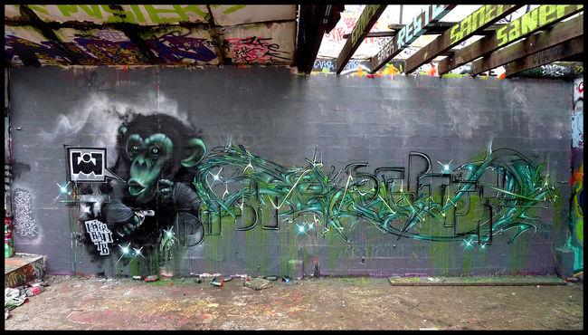 Big Walls By Septik, Dash - Paris (France)