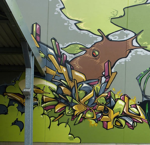 Fresques Par Ofser - Hasselt (Belgique)