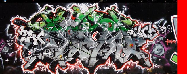 Big Walls By Kizer - Beziers (France)