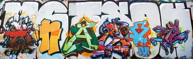 Big Walls By Kizer,  Asem, Xtrem - Beziers (France)