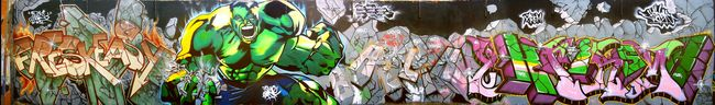 Big Walls By Kizer, Easy, Xtrem - Beziers (France)