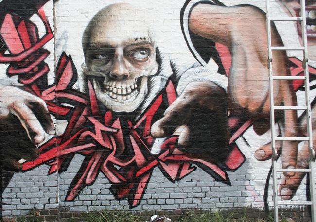 Fresques Par Keho, Polak - Gand (Belgique)