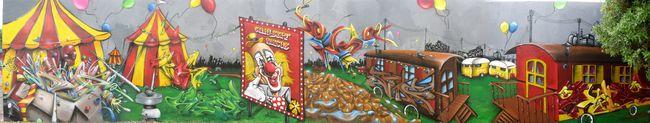 Fresques Par Skeum, Ryda, Deso, Ktear, Des3, Ucso, Syne, Skiz 2 - Montpellier (France)