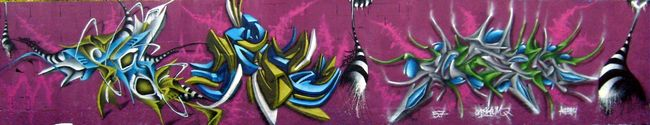 Big Walls By Skeum, Ryda, Deso - Montpellier (France)