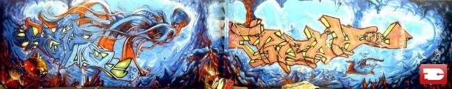 Fresques Par Setwo, Acet - Marseille (France)
