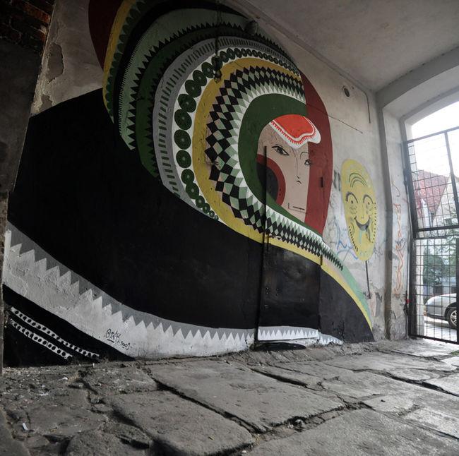 Street Art Par Otecki - Varsovie (Pologne)