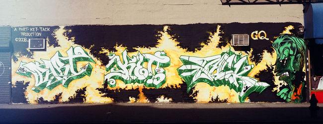 Big Walls By Part1, Ket, Tack - New York City (NY)