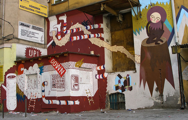 Street Art By Frm, Otecki - Warsaw (Poland)