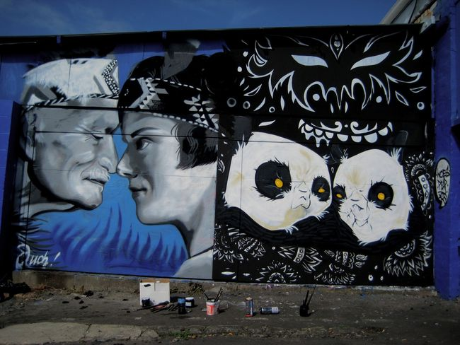 Big Walls By Ouch, Peap - Auckland (New Zealand)