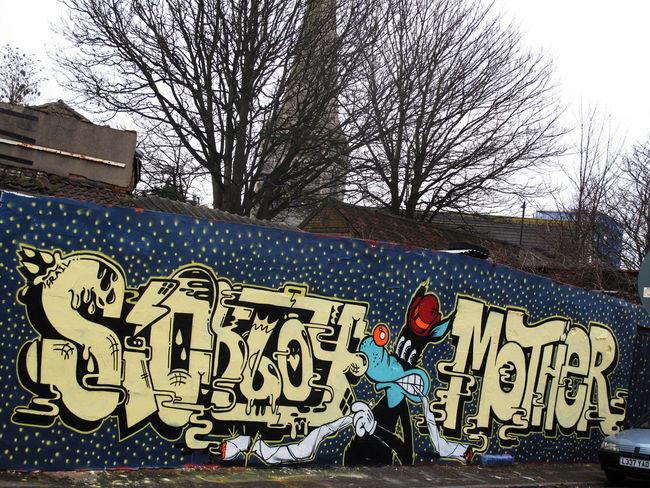 Fresques Par Sickboy, Word To Mother - Londres (Royaume Uni)
