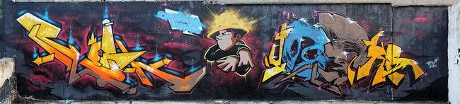 Fresques Par Resh, Jodhod - Clermont-Ferrand (France)