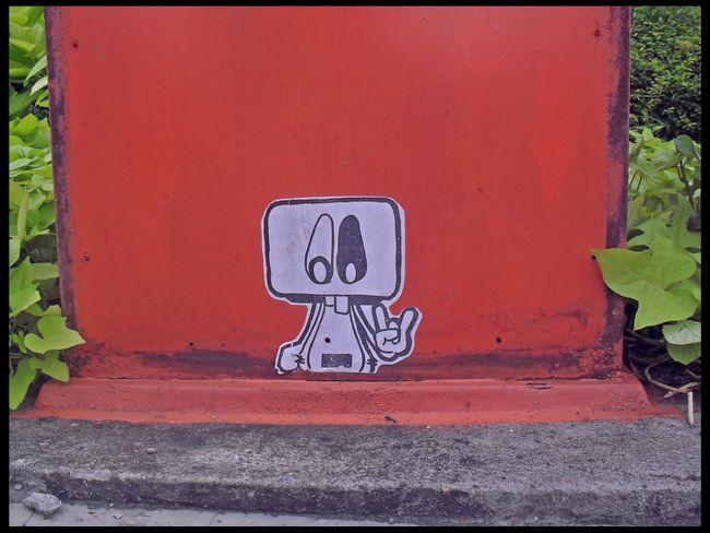 Street Art Par Dio - Surabaya (Indonesie)