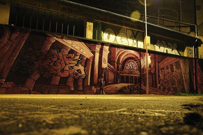 Big Walls By Skule, Insert Coin - Nancy (France)