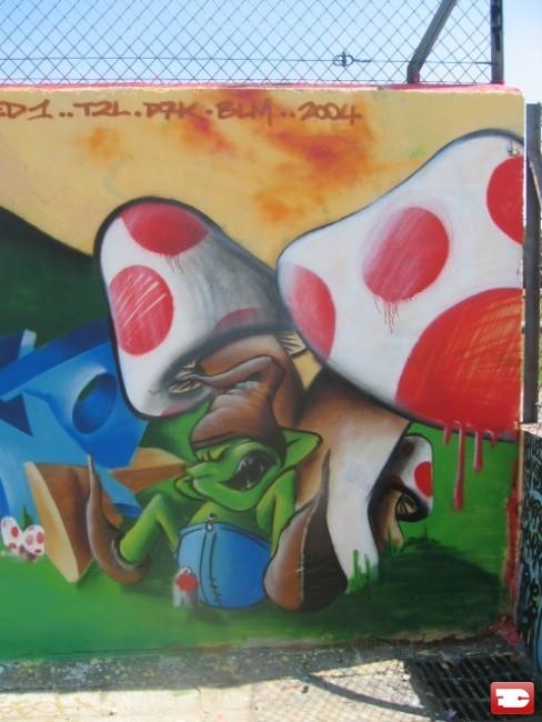 personnages par redone boissy sous st yon france street art et graffiti fatcap. Black Bedroom Furniture Sets. Home Design Ideas