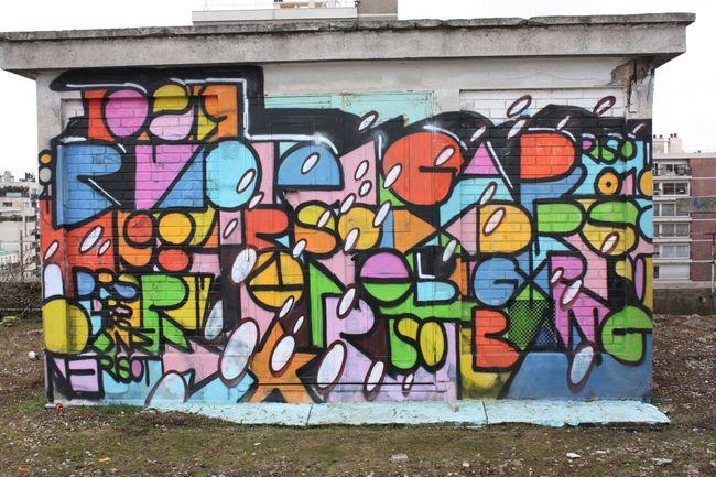 Street Art Par Risot - Paris (France)