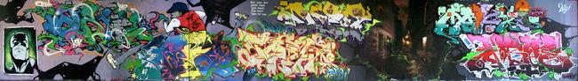 Fresques Par Papy, Dcen, Taer, Hobite, Agrume, Kotek, Ba.2k, Brozer, Oreos, Maiky - Paris (France)